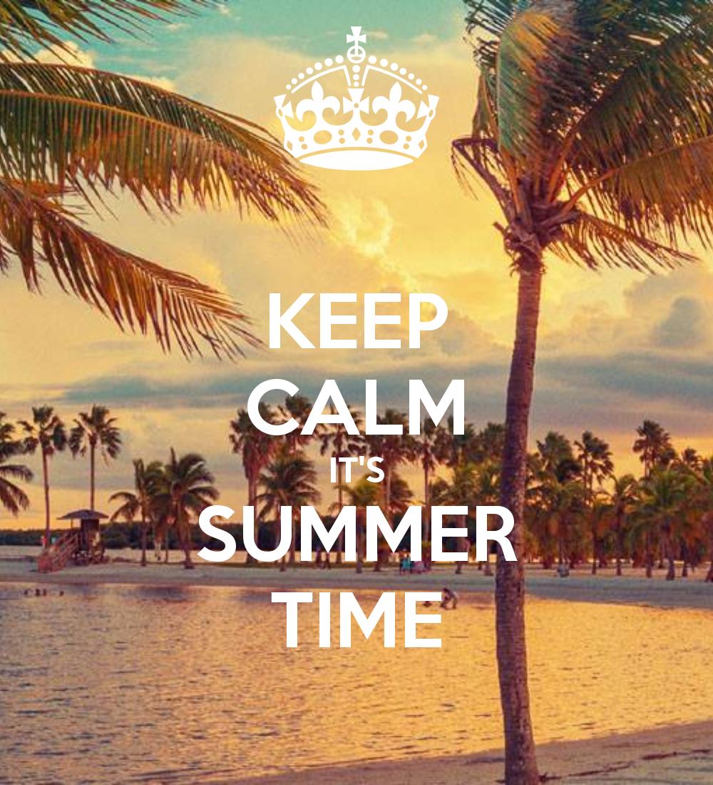 KEEP CALM ITu0027S SUMMER TIME