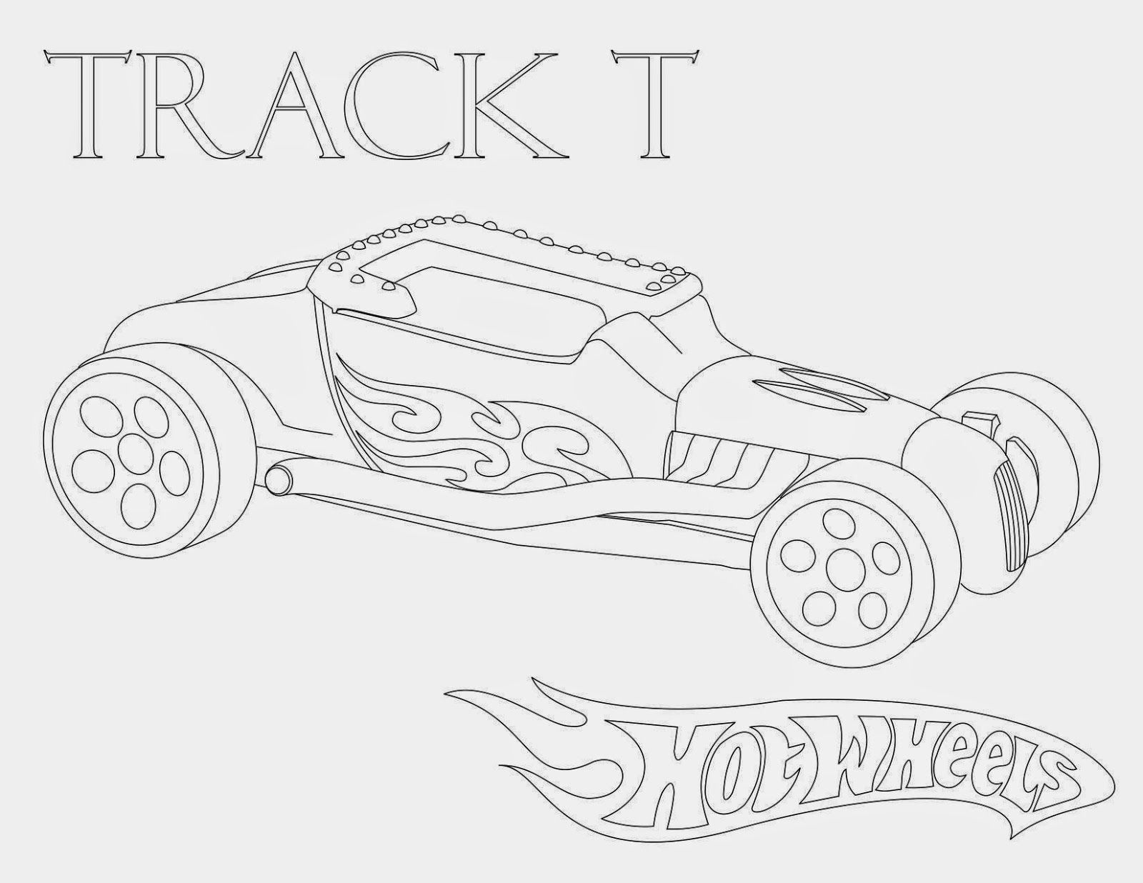 Hot Wheels Coloring Pages Set 3 A huge collection of Hot Wheels
