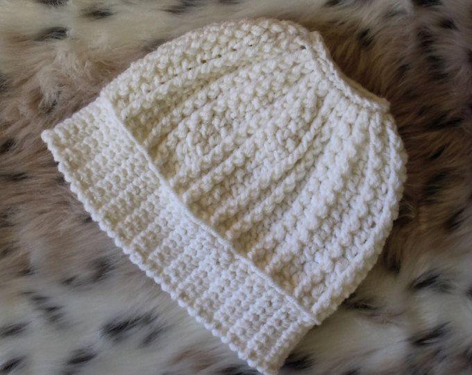 Bun Hat, Viral Messy Bun Hat, Ponytail Beanie, Mom Life Beanie ...