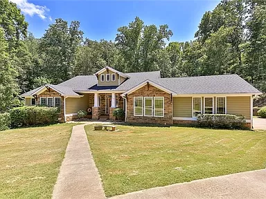 Canton Real Estate Canton Ga Homes For Sale Zillow In 2020 Zillow Craftsman Ranch Covered Back Porches