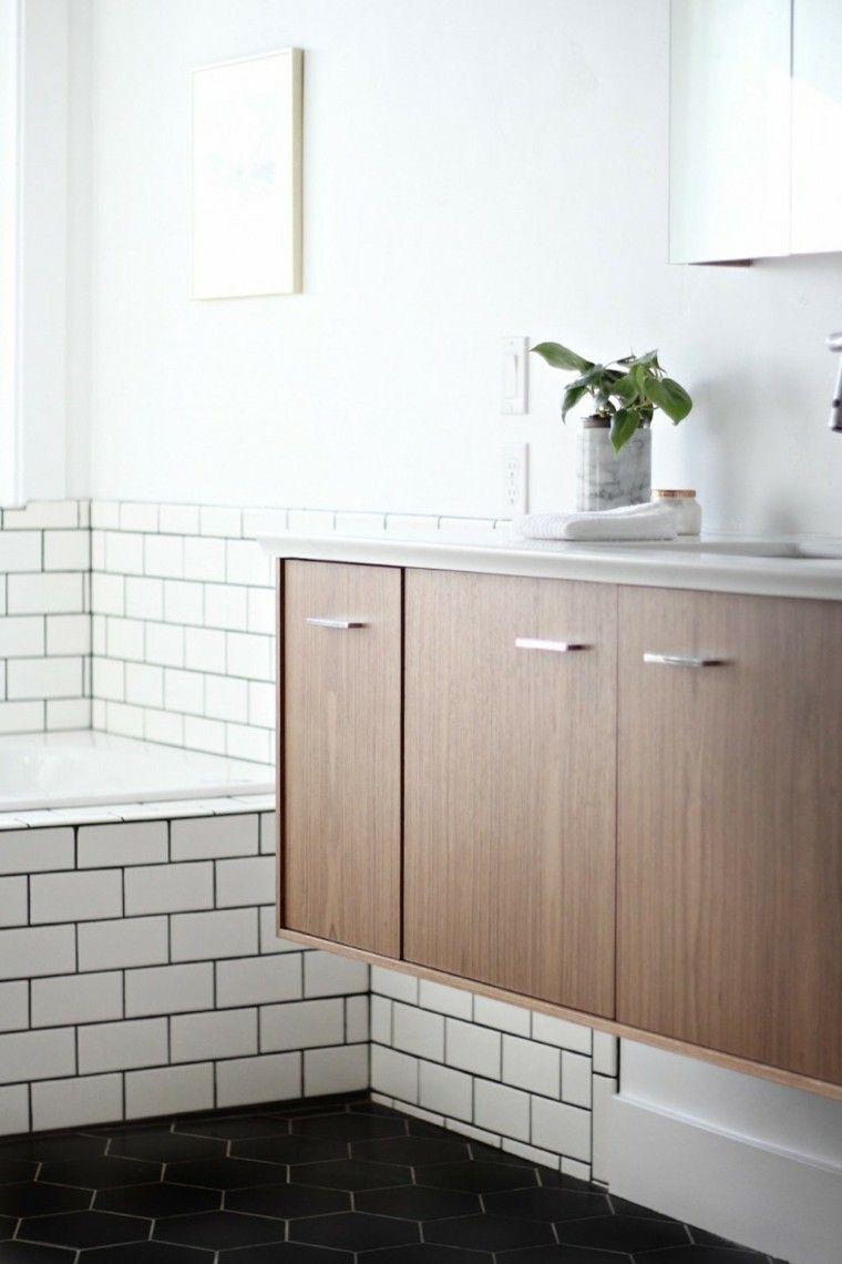 meuble salle de bain design scandinave