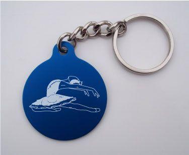 Swan Lake Key Chain