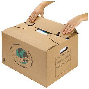 Caja Para Mudanza Montaje Instantaneo Cajas De Mudanza Cajas