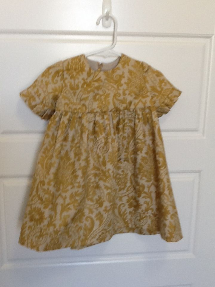 2013 Christmas dress, little sister