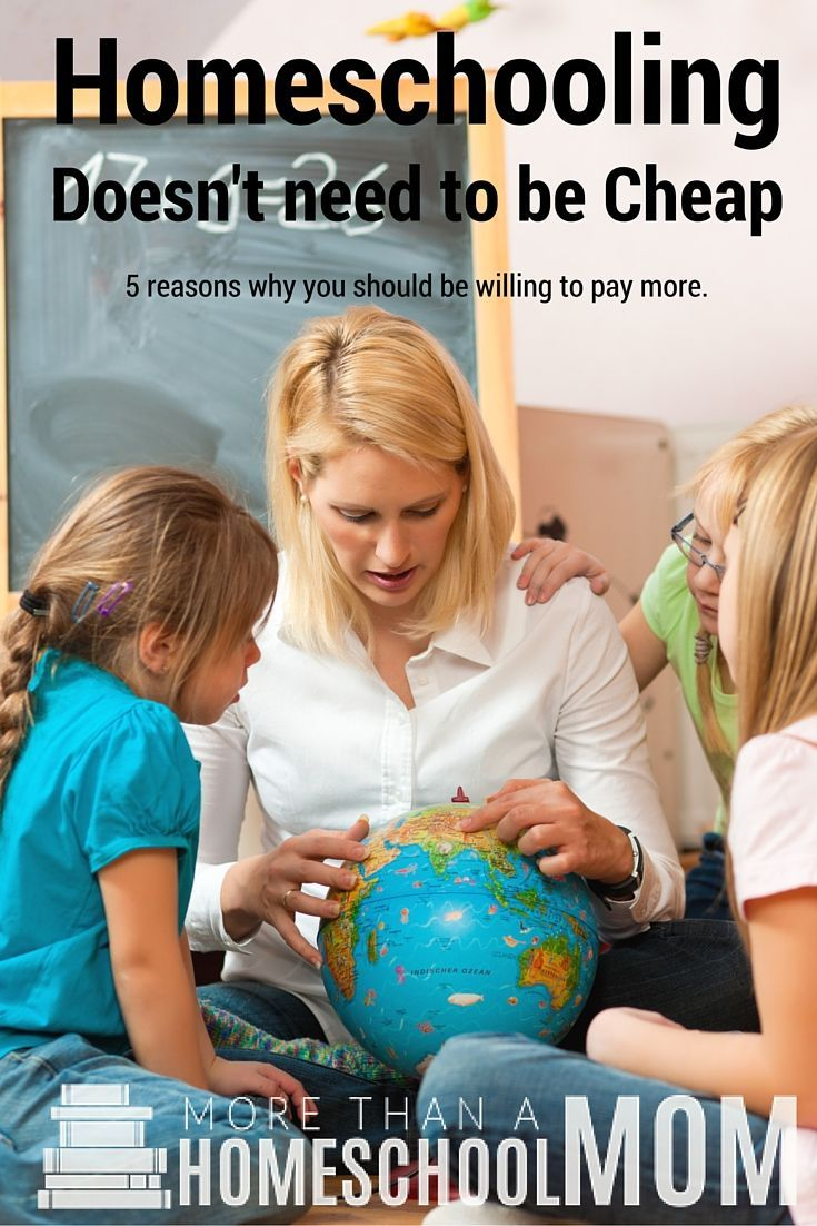Homeschooling Doesn't Need to Be Cheap When to Pay More