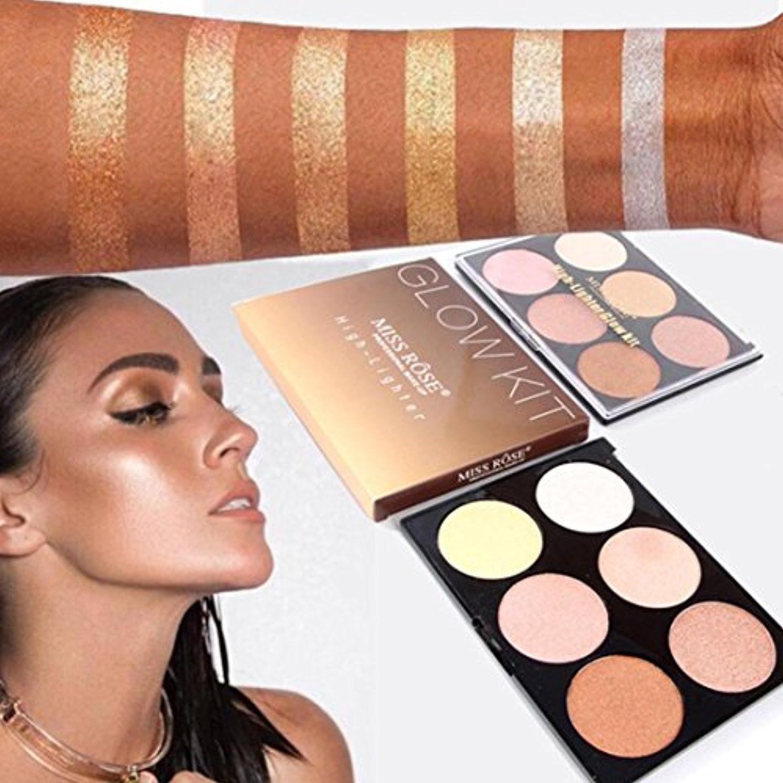 Dzt1968 1pc6 colors women 33g professional new makeup
