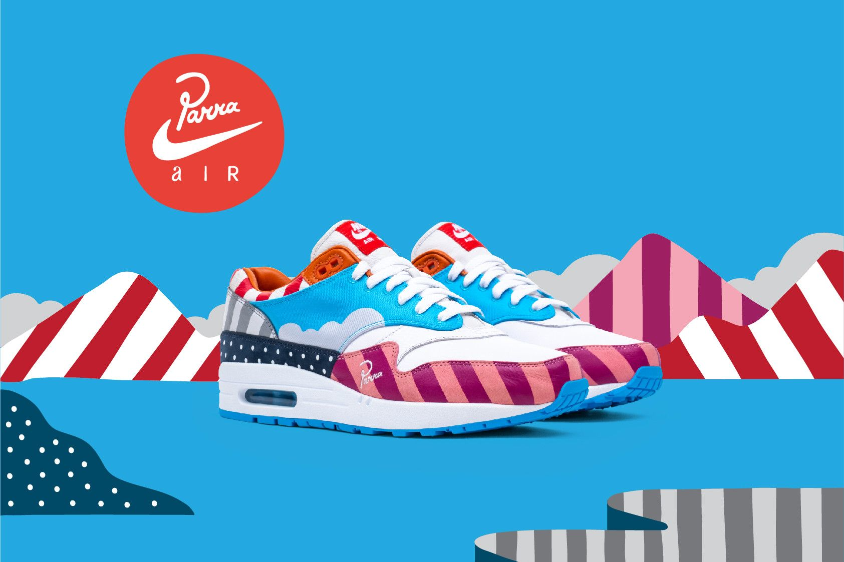 la mejor actitud original mejor calificado 60% de liquidación Parra Expands Nike Collaboration With Zoom Spiridon & Friends-and ...