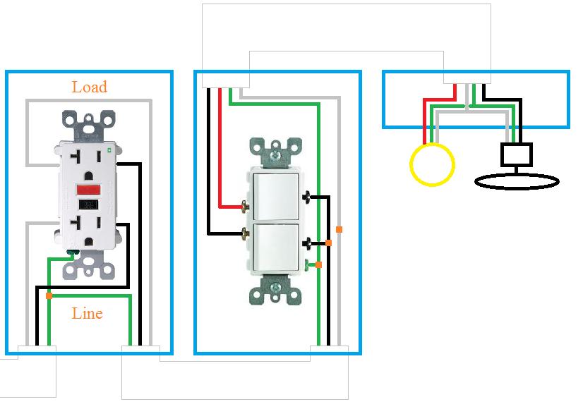 Pin by Matt Smaus on Electrical | Bathroom fan light, Bathroom fan, Bathroom  exhaust fan | Bath Vent Timer Wiring Diagram |  | Pinterest