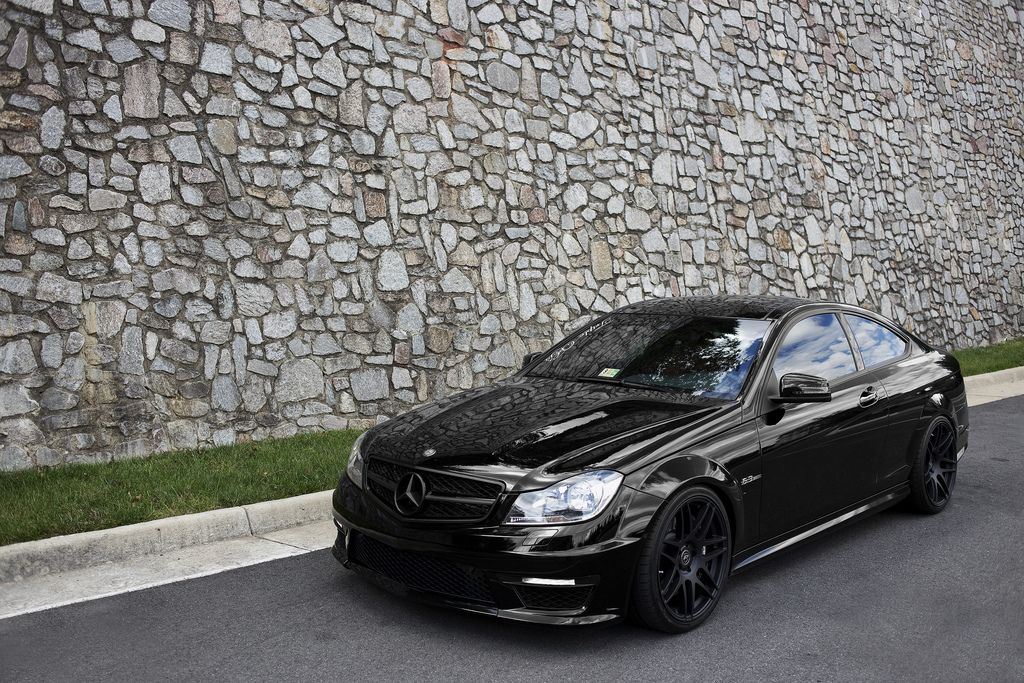 Blacked Out Mercedes C300 Cars Pinterest Benz Cars