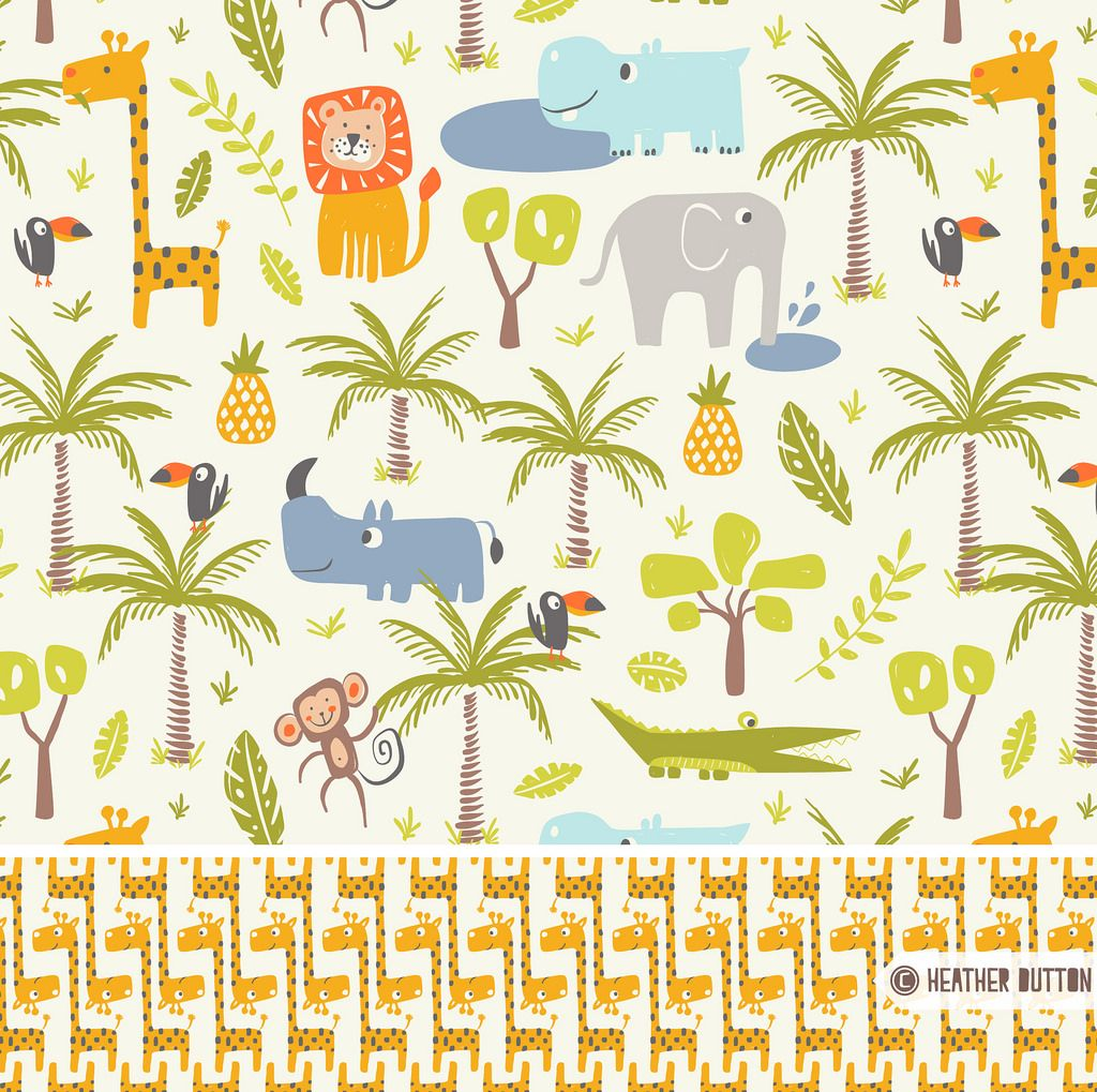 It's A Jungle Out There | © Heather Dutton | Hang Tight Studio