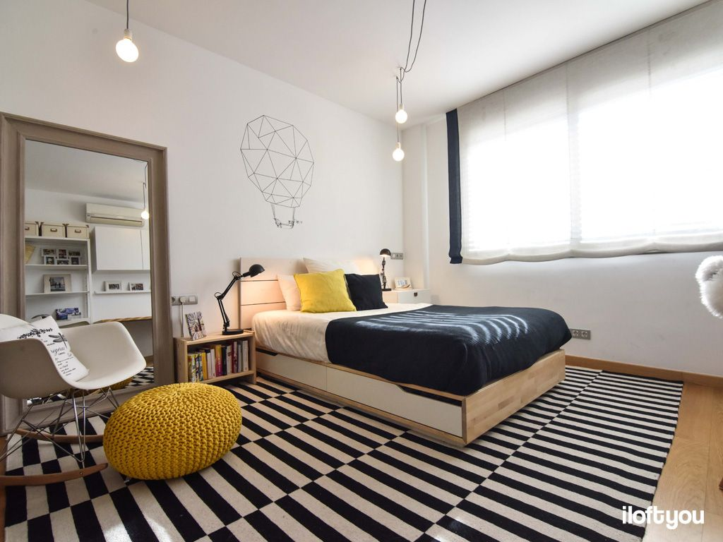 Youth Bedroom In Sabadell I Loft You Interior Design Youth Bedroom Bedroom Divider Home Interior design youth bedroom