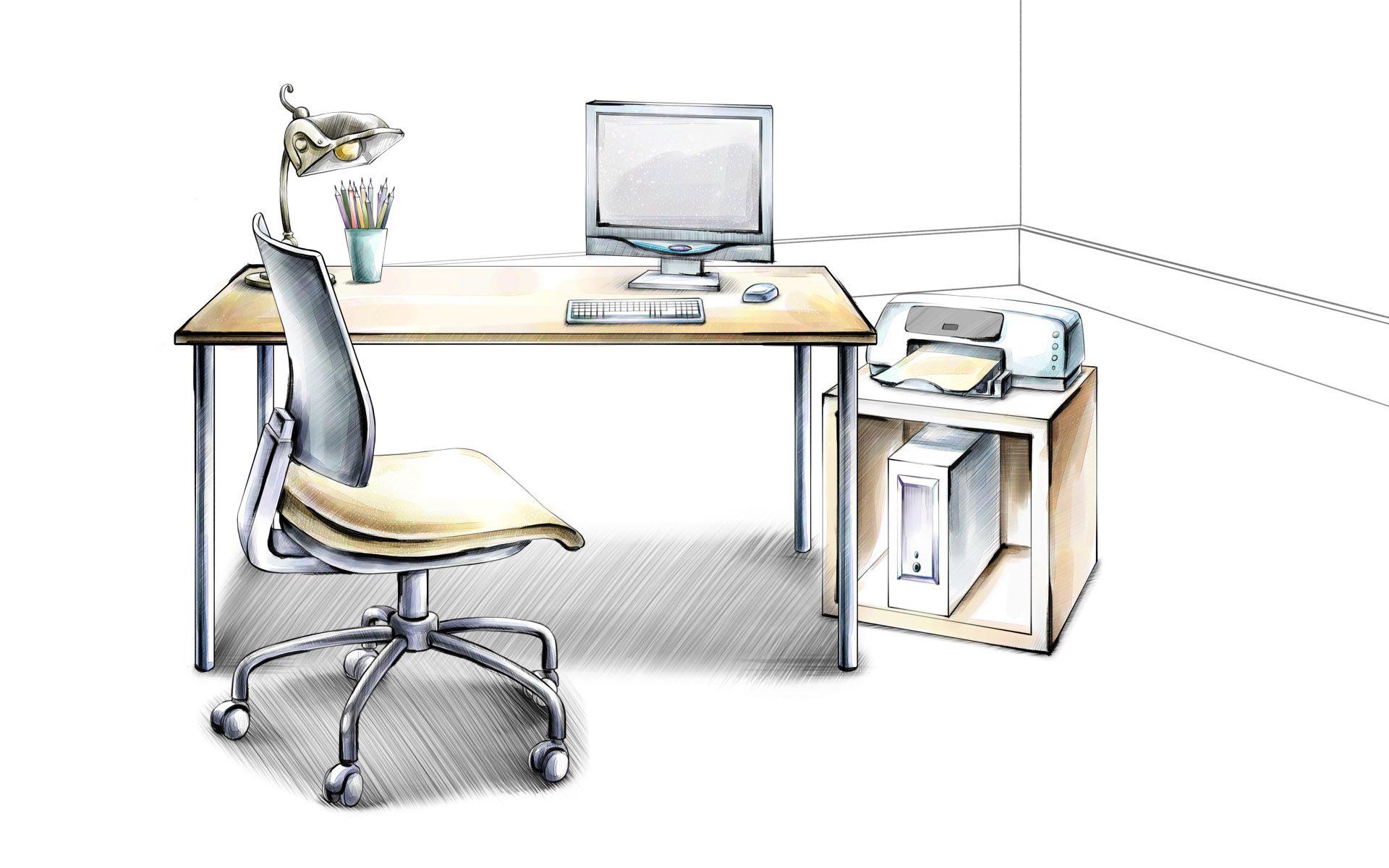 Рисунок для стола компьютера признанию