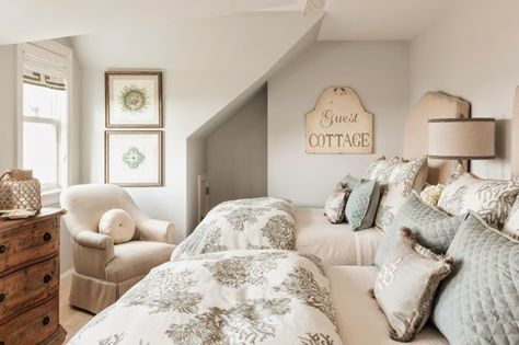 guest bedroom | Casabella Home Furnishings and Interiors