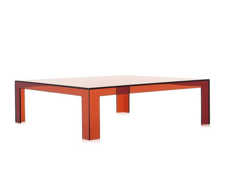 Kartell Invisible Table - Couchtisch - orange Jetzt bestellen unter