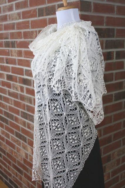 All Knitted Lace Free Pattern Motif Quatrefoil Rokdarbi