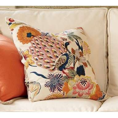 bettina pillow cover pottery barn thisnext - Pottery Barn Pillow Covers