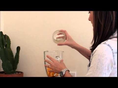 Receita: Suco de manga com hortelã