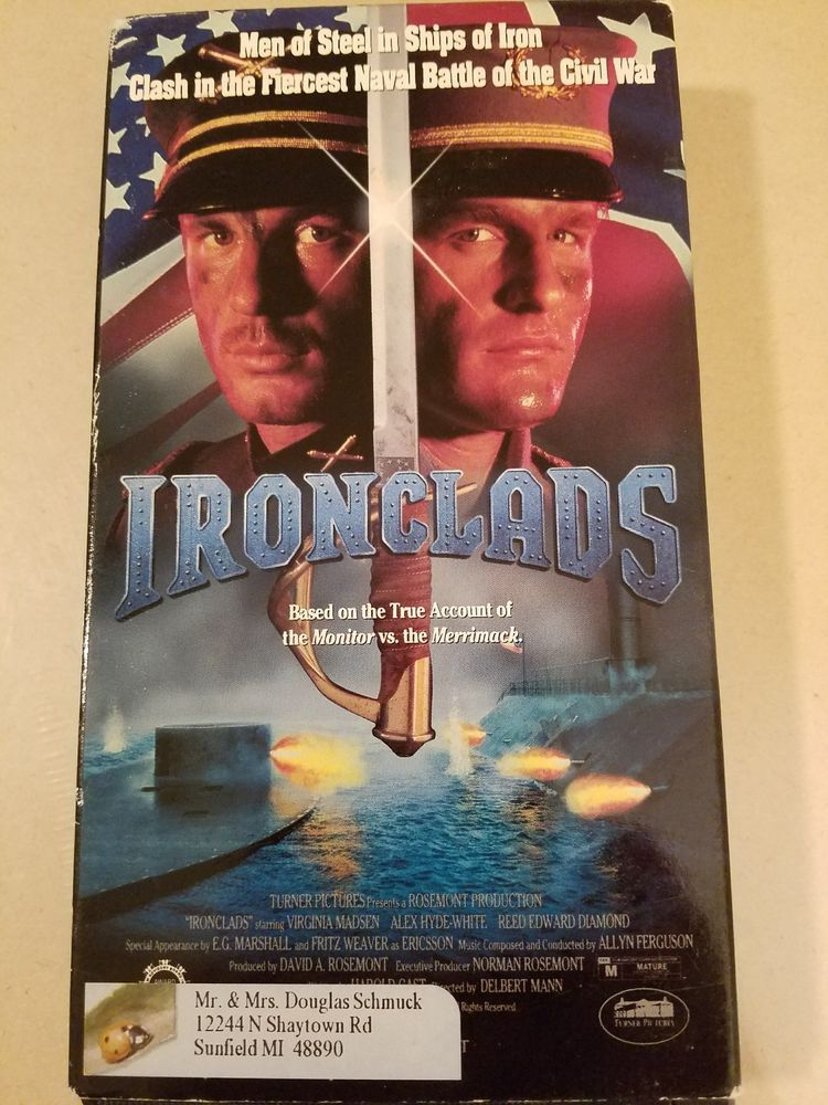 Ironclads Vhs Used Not On Dvd Rare Vhs Dvd Man Of Steel