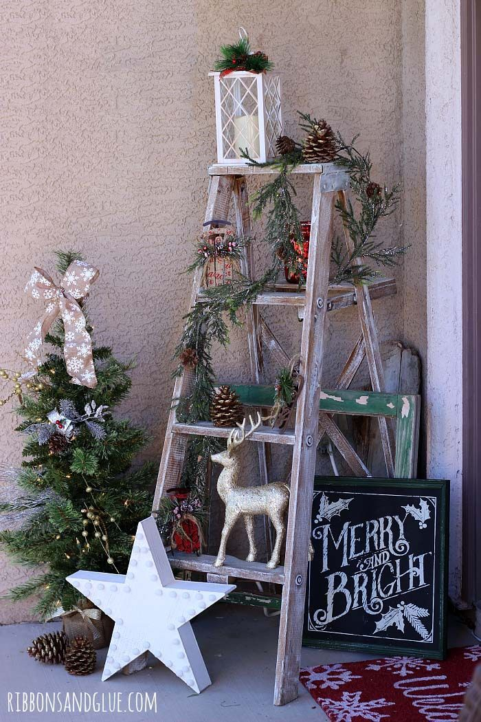 40+ Fabulous Rustic-Country Christmas Decorating Ideas COUNTRY