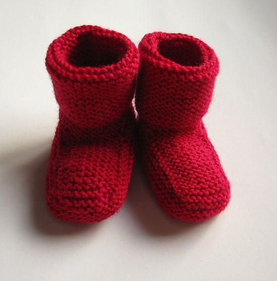 Stay-On Baby Booties pattern by Churchmouse Yarns and Teas | Free ...