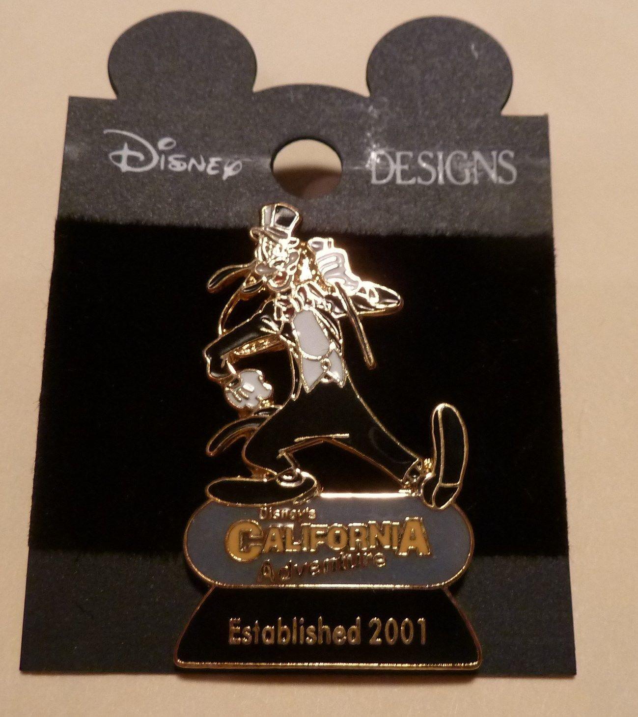 Disney Pin Goofy 2001 California Adventure Formal Series New | eBay