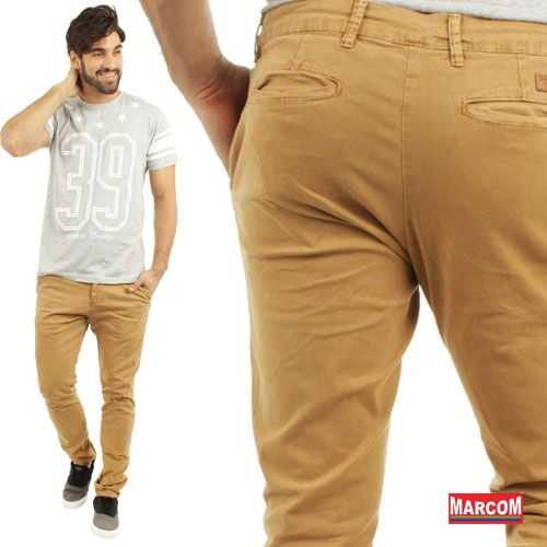 http://modamarcom.com.br/para-todos-os-gostos/ Man style #fashion #pants #colour #blue #denim #manly #brown #street #casual #social