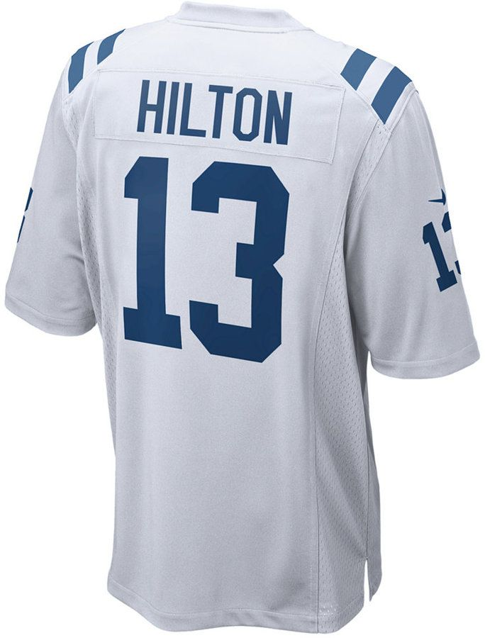 quality design d7c8a db2cf Men's T.Y. Hilton Indianapolis Colts Game Jersey   Products ...