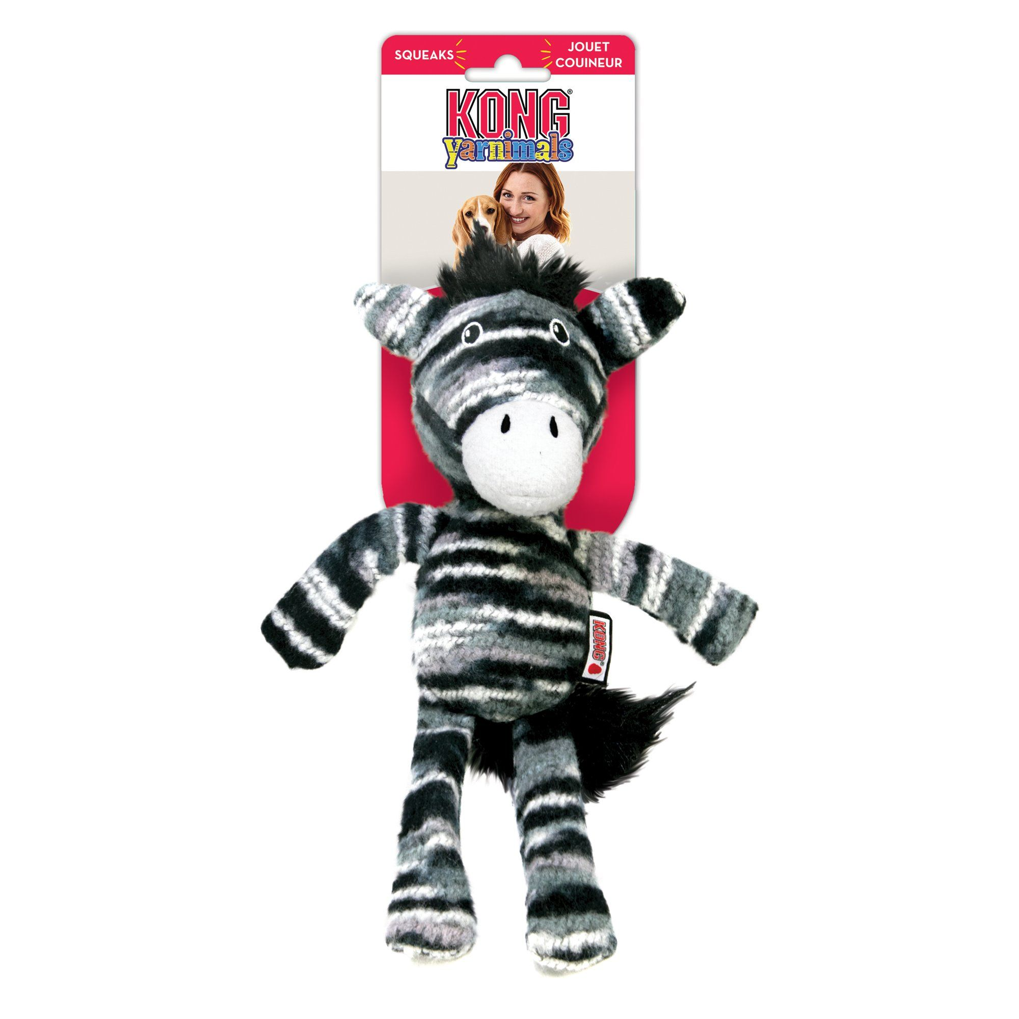 Kong Yarnimals Zebra Toy For Dog Small Products In 2019 Dog