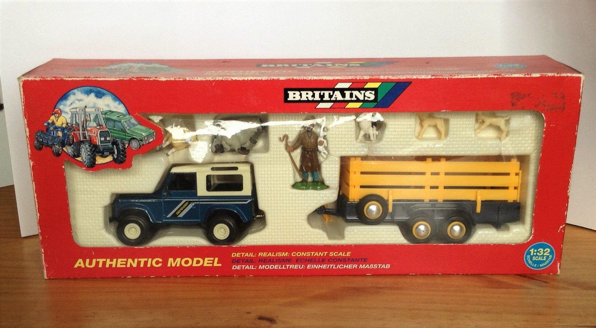 Britains farm set vintage model set miniatures boxed