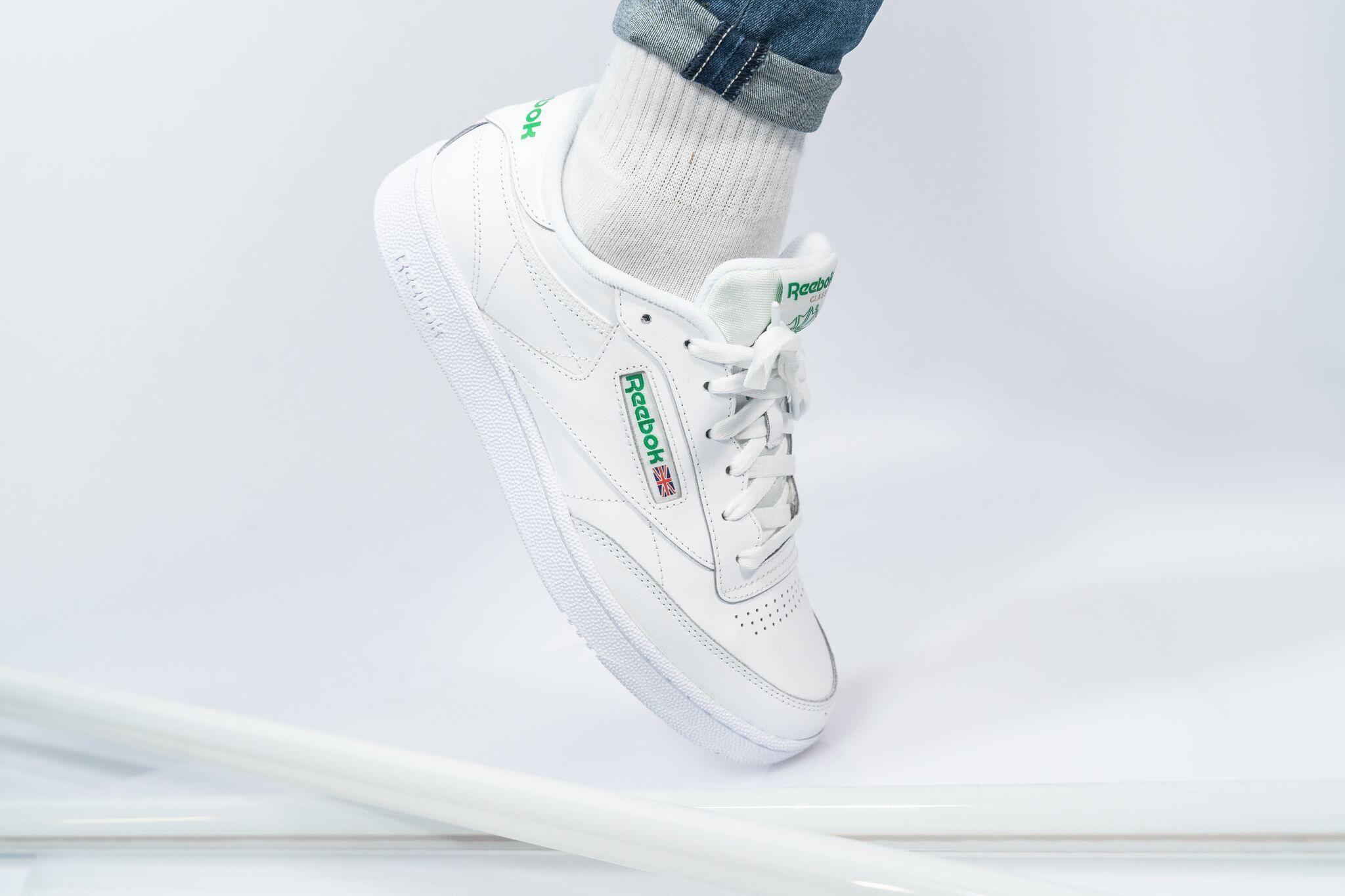 Reebok Club C 85 Jumpnshoez Jns Sneaker Fashion Outfits Herren Schuhe Manner Reebok Outfit Vans Schuhe Herren Reebok