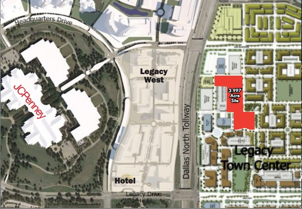 West Plano office site hits the market in booming Legacy