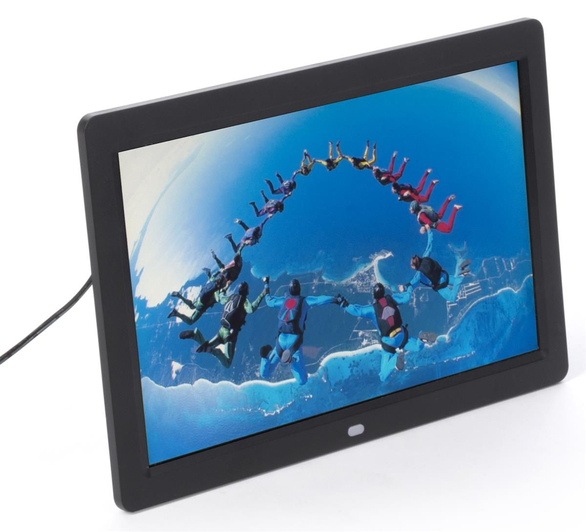 """12"""" Digital Photo Frame, Tabletop or Wall, Plays Images, Video ..."""