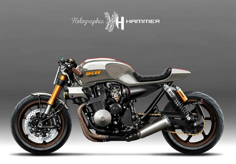 Yamaha XJR1200 'Sunburn' by it roCkS bikes, Holographic Hammer