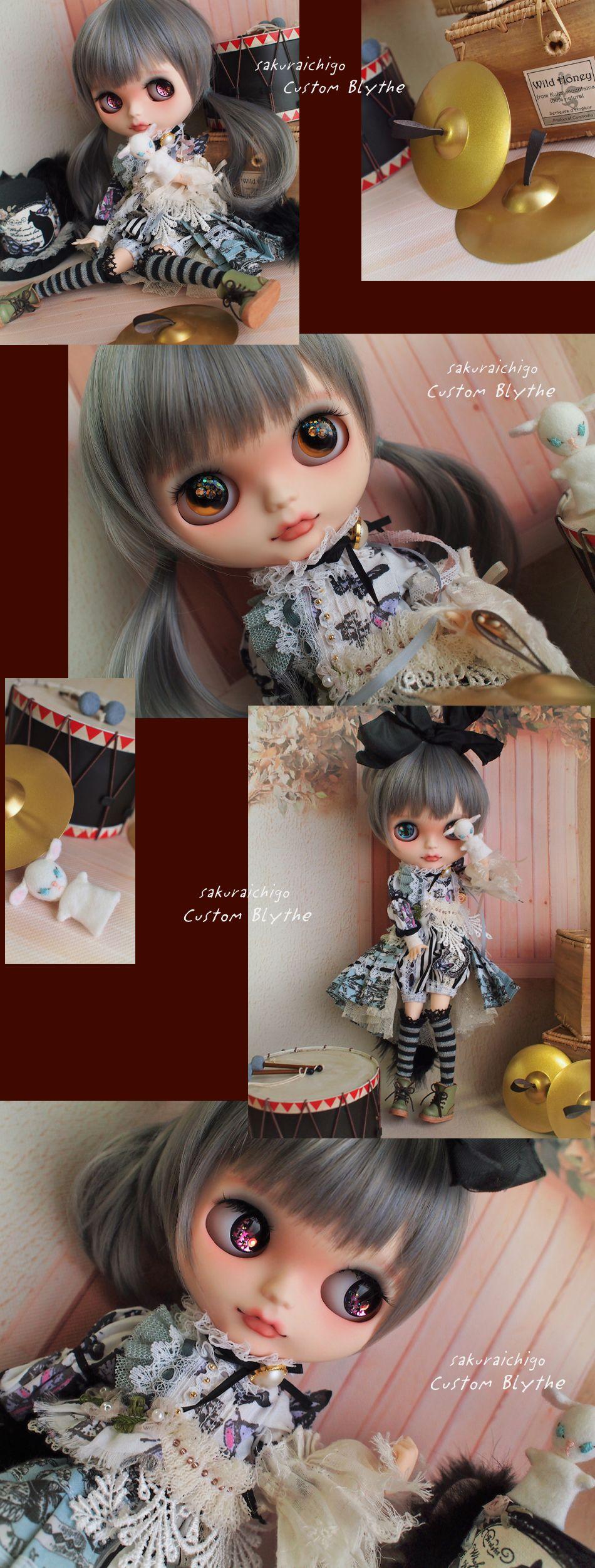 ◆ 桜苺 ◆ カスタムブライス * 黒猫のマリオネッタ * - ヤフオク!