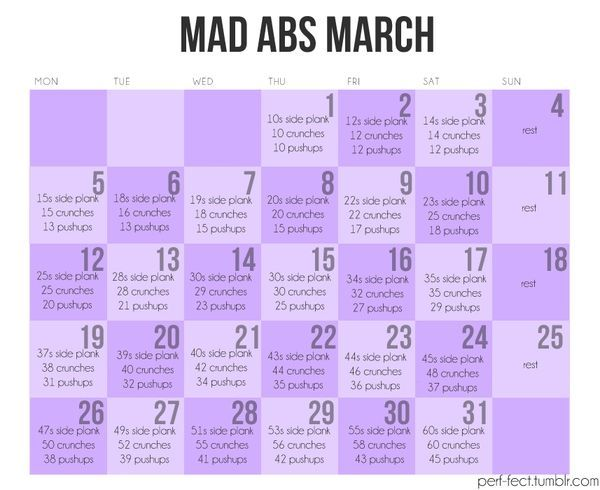 one month abs super abs pinterest fitness workout and exercise