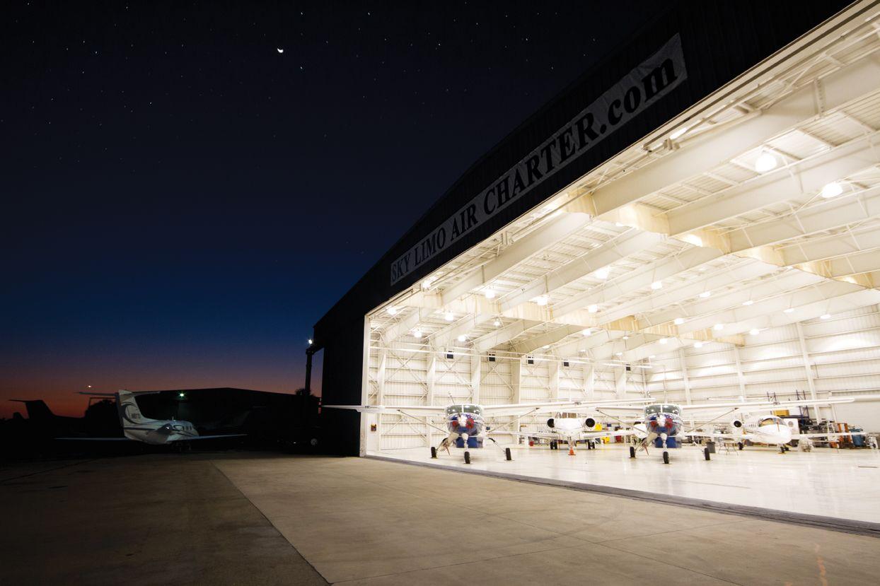 30,000 sq ft Private Jet Facility Private jet, Travel, Sky