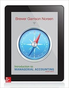 introduction to managerial accounting 7th edition brewer garrison