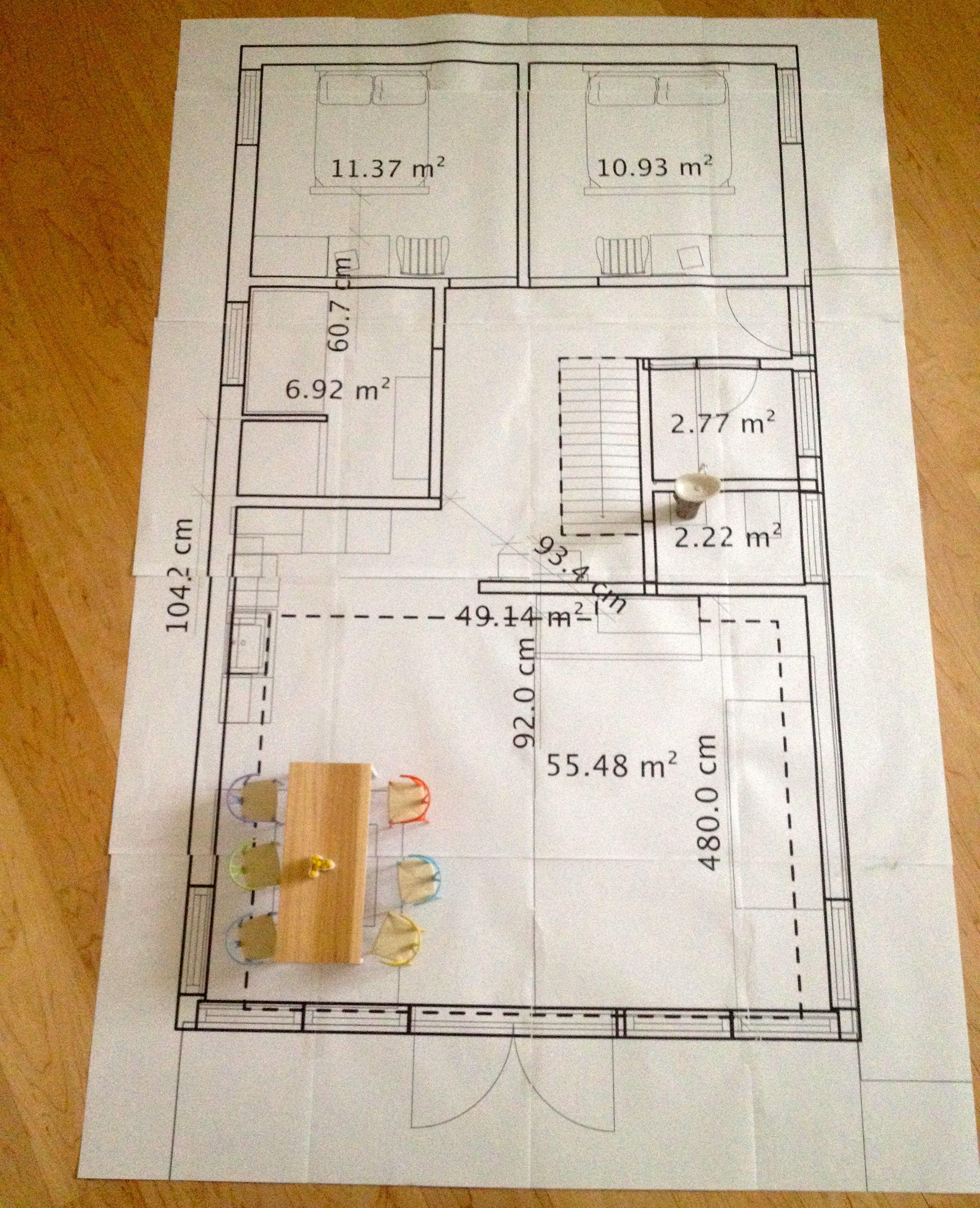 Floor Plan In 1 12 Size It Looks Gynormous Architecture Model Making Drawing Interior Architecture Model