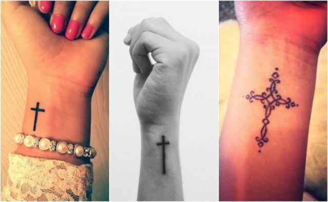 Hot Trend Tatuaże Krzyże Idealny Wzór Na Przedramię