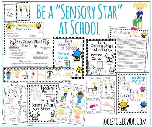 Classroom Ideas For Sensory Integration ~ Self regulation sensory processing diet