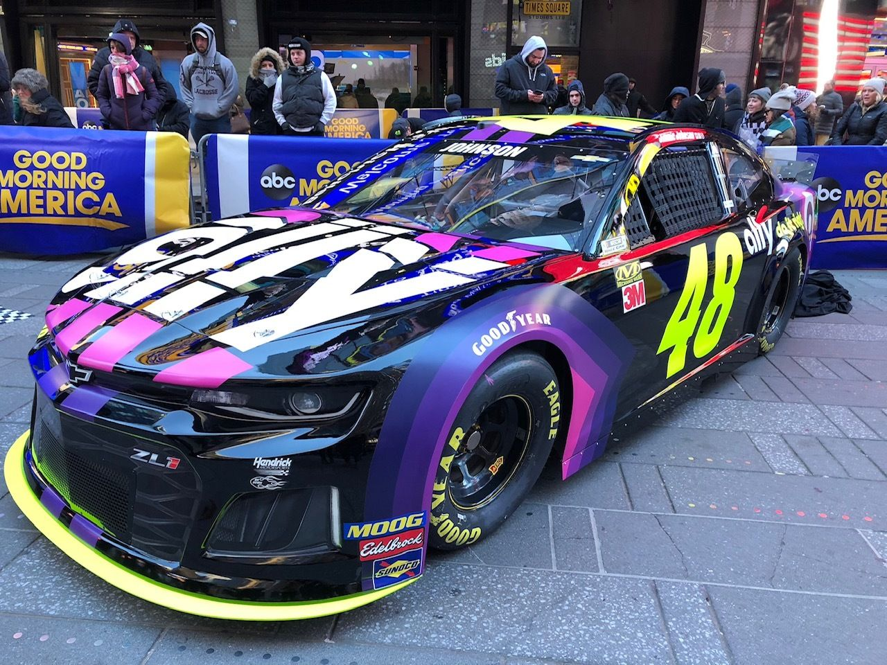 Jimmie Johnson 2019 Paint Scheme Ally Financial Video Nascar