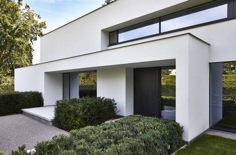 Residentieel modern architectenburo berkein huis pinterest huizen moderne huizen en - Deco moderne woning ...
