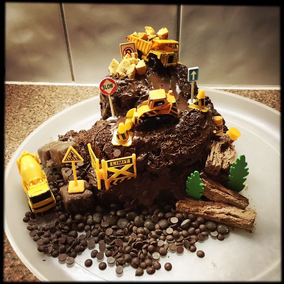Kids Truck Cake