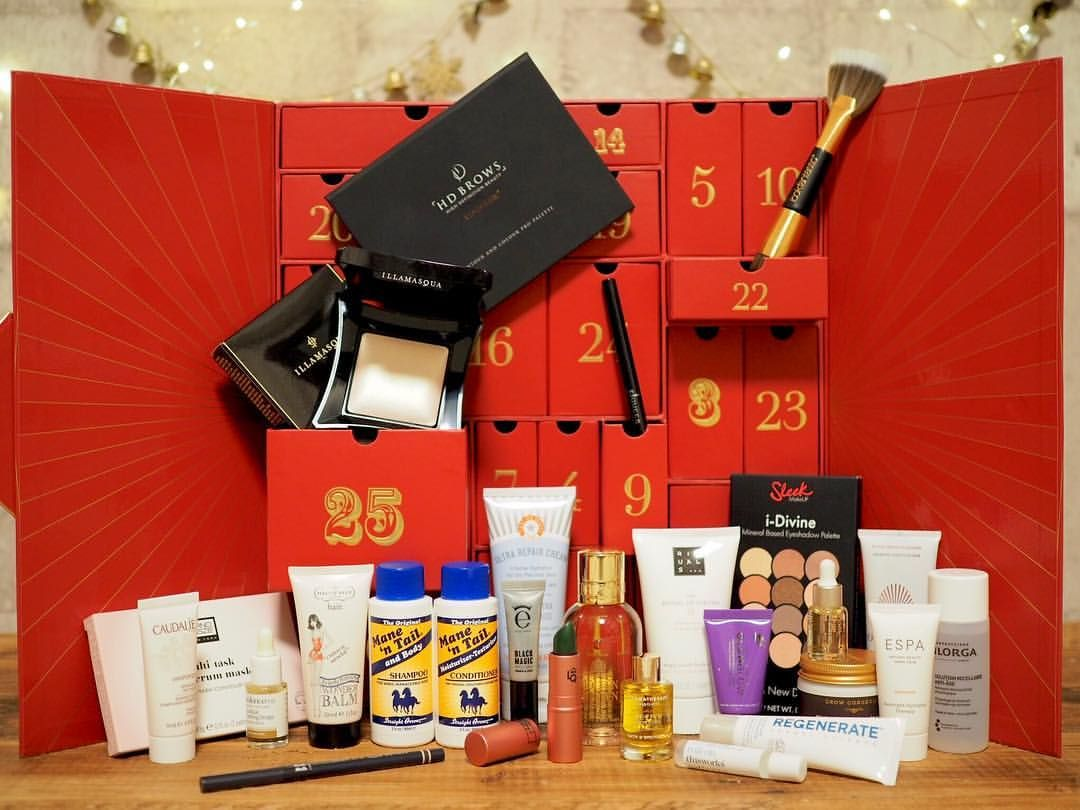 Here Is Lookfantastic Advent Calendar 2018 That Contains 25 Beauty