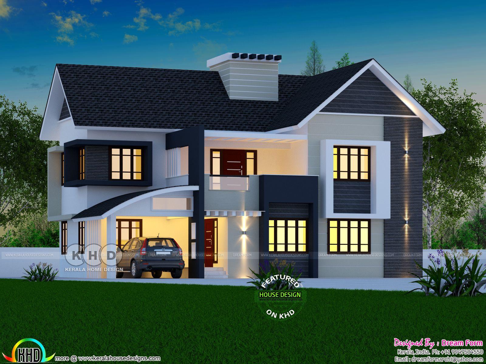 2081 square feet beautiful 4 BHK home