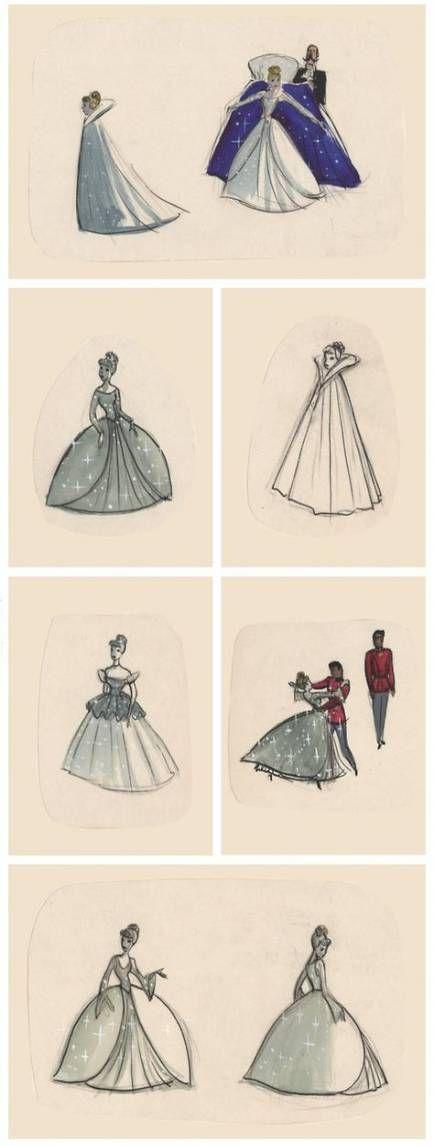 7 dress Princess draw ideas