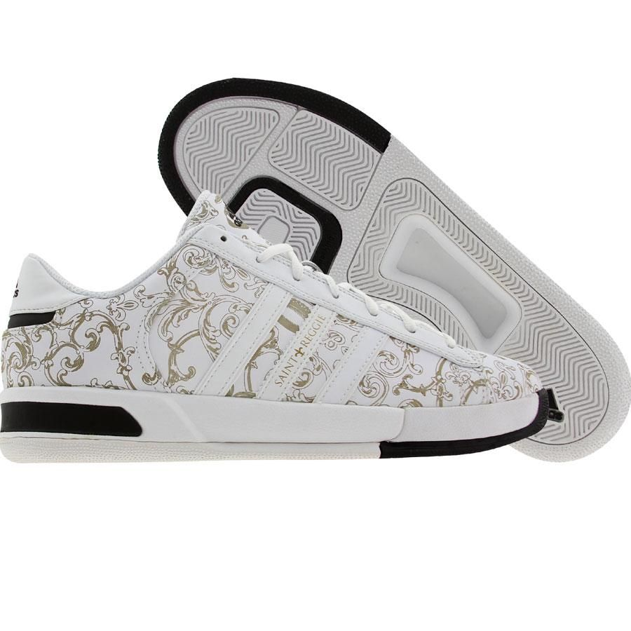 adidas campus e reggie bush (runninwhite / oro metallico) 677373