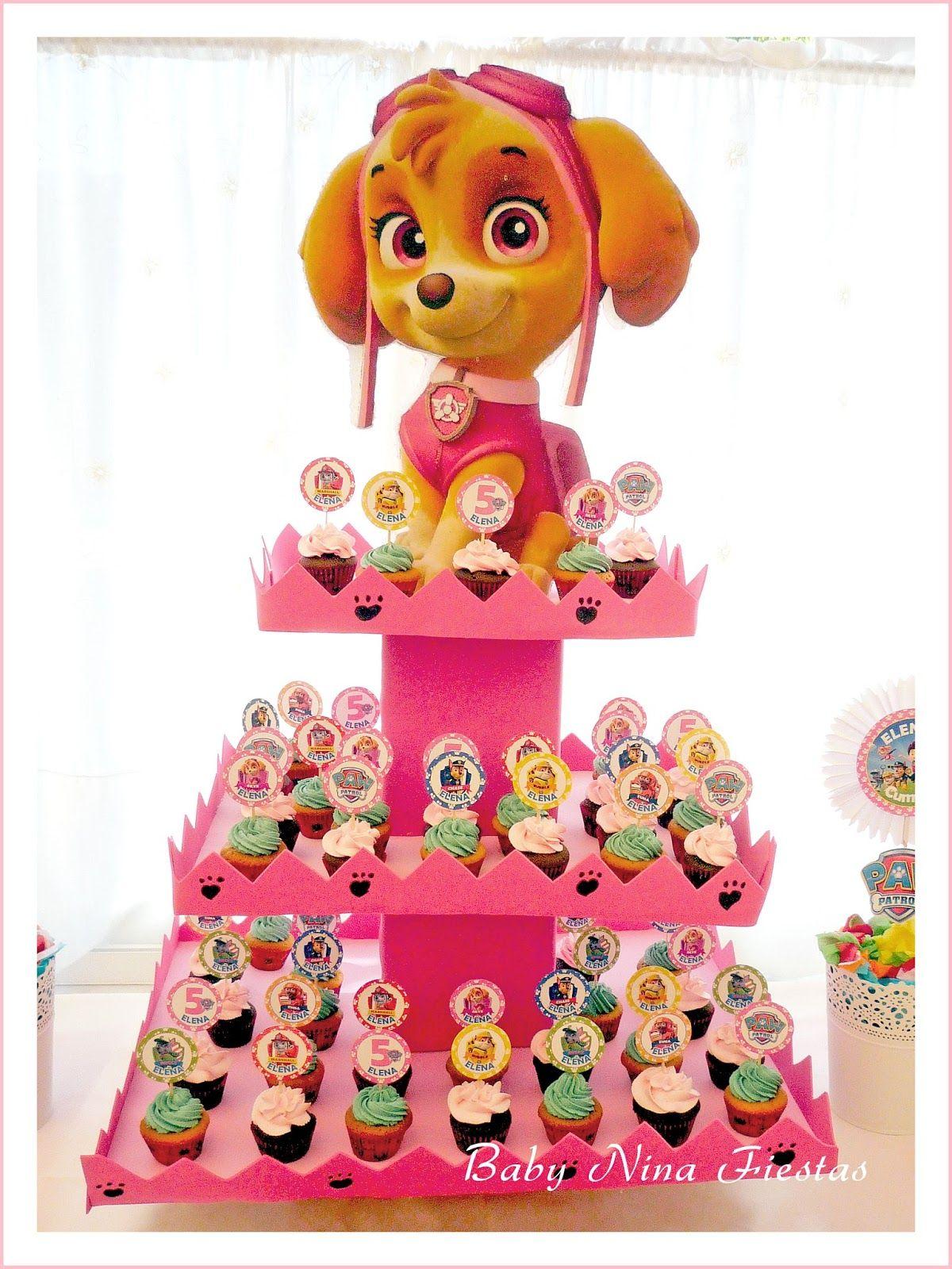 minicupcakes patrulla canina | patrulla canina | Pinterest ...