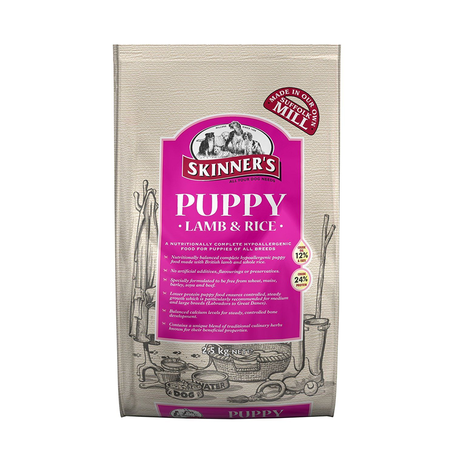 Skinners Puppy Lamb And Rice 2 5 Kg Continue To The Product At