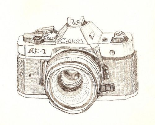 My first SLR camera was a Canon AE-1